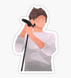 Direction: Pegatinas Louis - One Direction Pegatina One Direction Fan Art, One Direction Drawings, One Direction Wallpaper, One Direction Pictures, Printable Stickers, Cute Stickers, Laptop Stickers, Desenhos One Direction, Larry Stylinson
