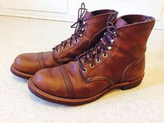Red Wing Iron Ranger boots Amber Harness 8111, Size 12 #RedWing #AnkleBoots