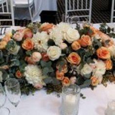 #Bouquets in #Peach, Cream & #White