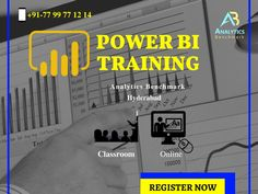 Power BI Training Is Now Creating Huge Market on Business World. Grab The Real Time Training With Analytics Benchmark Institute. We Offer Both Online And Classroom Training