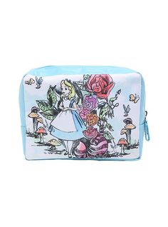 Disney Alice In Wonderland Garden Makeup Bag,