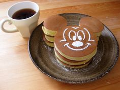 Mickey pancakes Teddy this one is for you!
