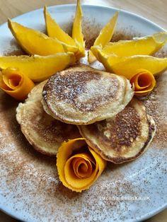 Špaldové pomarančovo-škoricové lievance – moje malé veľké radosti Pancakes, Breakfast, Fitness, Food, Basket, Morning Coffee, Essen, Pancake, Meals