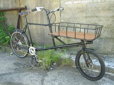 Cargo with Cro-mo basket by Bilenky Cycle Works, via Flickr