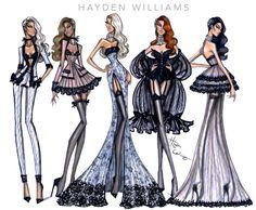 Hayden Williams #HauteCouture SS16 collection