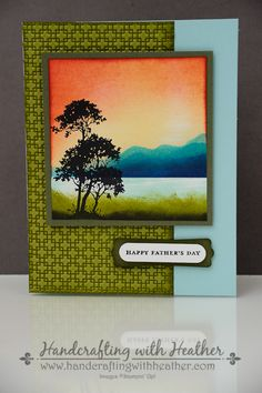 Coloring Techniques for Stampin' Blendabilities Achieving Beautiful Results with Coastal Cabana Blendabilities Layered Panel Technique Fabulous Florets Layered Panel Birthday Card Thumping Techniqu...