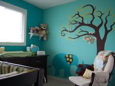 28 Contemporary Baby Nursery Design Ideas Love the decal