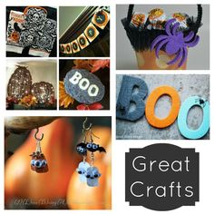 Great Halloween Crafts