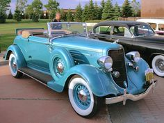 1934 Dodge Convertible Coupe Teal/Turquoise Car