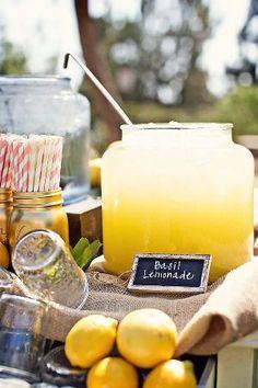 real lemonade stand for weddings