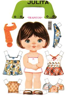 SURPRISE - More loggerhead to our collection * Free paper dolls at Arielle Gabriel's The International Paper Doll Society Paper Dolls Book, Vintage Paper Dolls, Paper Toys, Paper Crafts, Paper Dolls Printable, Retro Toys, Doll Furniture, Bjd Dolls, Old Toys