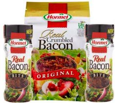 $1 off 2 Hormel Bacon Toppings Products Coupon on http://hunt4freebies.com/coupons