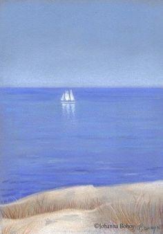Solitary Sail -- Johanna Bohoy