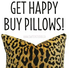 Lots of different styles to choose from - Happy shopping! http://www.switchstudio.ca/product-category/pillows