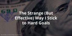 The Strange (But Effective) Way I Stick to Hard Goals http://www.nirandfar.com/2016/01/habits-overhyped-heres-really-works.html via Nir Eyal #goals #productivity