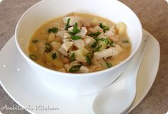 Ambition's Kitchen: revisiting - CREAMY CHICKEN APPLE CHILI