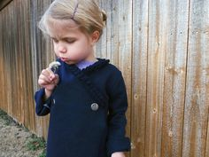 Jacinda and Jaime share how to turn an old sweatshirt into an adorable custom children's kimono in just a few easy steps.