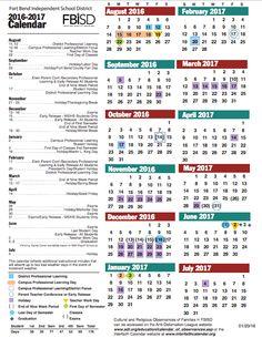 Fbisd 2019 Calendar 11 Best Fort Bend ISD and Lamar CISD Education images in 2014
