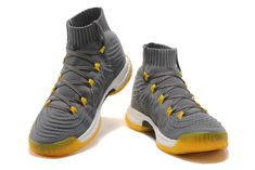 8b26962d5a2e Purchase adidas Crazy Explosive 2017 Primeknit Grey Yellow CQ1396