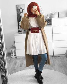 Hijab Fashion 688980442981706762 - Muslim Fashion 856246947883634939 Source by Modern Hijab Fashion, Street Hijab Fashion, Muslim Fashion, Fashion Outfits, Modest Fashion, Casual Hijab Outfit, Hijab Chic, Estilo Abaya, Modele Hijab