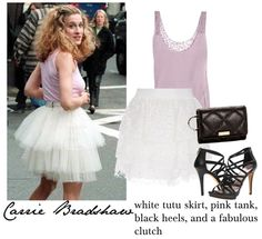Carrie Bradshaw Halloween Costume DIY  via History & High Heels