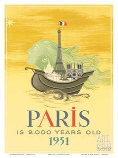 Paris is 2000 Years Old, c.1951