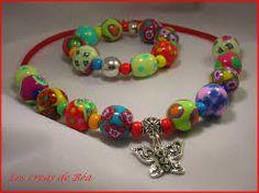 """Résultat de recherche d'images pour """"colliers colorés perles mélangées"""""""