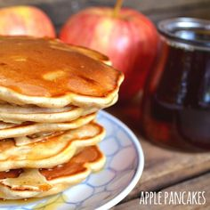 Apple Pancakes - We love the slightly tart flavor and delicate crunch of the apple in these pancakes.