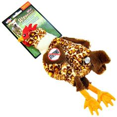 Skinneeez Plush Barnyard Chicken Dog Toy is a fun plush toy that's completely stuffing-free! Description from petmountain.com. I searched for this on bing.com/images