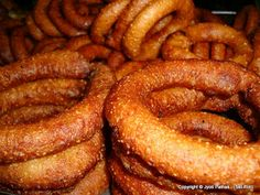 Taste of Nepal: Sel-Roti -Fried Rice Bread - (सेल-रोटि)