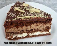 RECEITAS AUSTRÍACAS E ALEMÃS - DOCES: TORTA  DE  CAFÉ  E  CHOCOLATE   LATTE   MACCHIATO ...