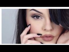 Watch in Hd Makeup Products: Foundation revlon color stay golden brows pomade ABH dark brown eyes maya mia palette shades nude and caramel lashes huda beauty...