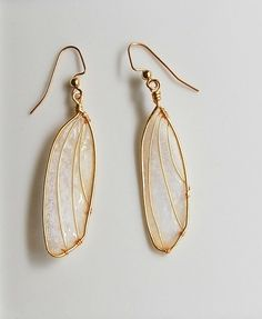 Enchanting Wing Earrings by frankie