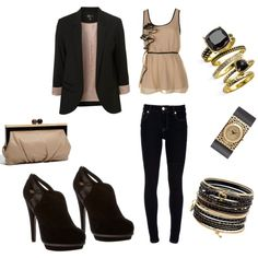 girls' night out, created by shauna-rogers.polyvore.com