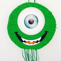 Birthday Celebration Mike Wazowski Pinata (Monsters Inc.). Celebración cumpleaños piñata de Mike Wazowski (Monstruos SA) de ArteAnadal en Etsy https://www.etsy.com/es/listing/538330523/birthday-celebration-mike-wazowski