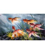 More than sellers offering you a vibrant collection of fashion, collectibles, home decor, and more. Korean Traditional, Chinese Painting, Goldfish, Animal Paintings, House Painting, Landscape Paintings, Vibrant, Oil, Animals