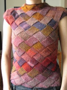 Ravelry: Project Gallery for Harlequin learns Japanese pattern by Sarah Sutherland