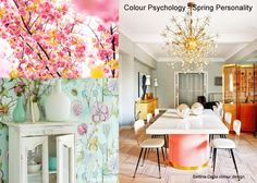 Home Decorating: The Spring Personality in Colour Psychology - Bettina Deda Colour Design