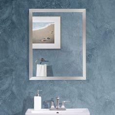 f9510d29bafd Westling Aluminum Framed Bathroom   Vanity Mirror Mirrors Wayfair