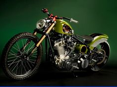 Harley Davidson - Bobbers and Custom Motorcycles |