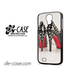 Christian Louboutin Red Bottom Heels DEAL-2579 Samsung Phonecase Cover For Samsung Galaxy S4 / S4 Mini