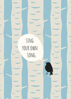 sing your own song printable // life made lovely.