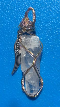 Quartz Pendant by GaiasGemsNHealing on Etsy