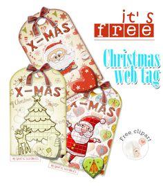Free Christmas Web Tag http://graficscribbles.blogspot.it/2014/12/free-christmas-web-tag-decorazioni-immagini-Natale.html #tag #Natale #Christmas #Renna #alberodiNatale #BabboNatale #abete