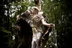 The Patience Of Trees in Wonderland, a spectacular photographic series by Kirsty Mitchell - check it out!