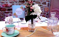 Magali et Nicolas - Réception de mariage du 23 septembre 2016 Shabby Chic, Table Decorations, Tableware, Home Decor, September, Dinnerware, Decoration Home, Dishes, Interior Design