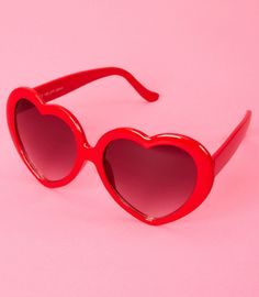 "a5c89f45504 fredflare  "" Sugar is sweet and so are you! Playful heart shaped sunglasses"