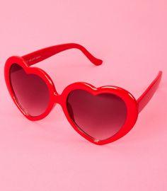 heart shaped glasses
