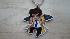 My guardian Angel Castiel, always around my neck close to my heart. Thank you SO FUCKING MUCH @Sophia Cherry ♥