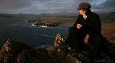 Panoramic view of the Dingle Bay, Ireland.